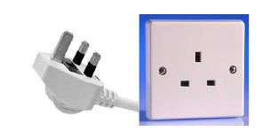 UK 3-pin plug