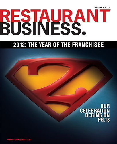 Restaurant Business Magazine January 2012 Issue