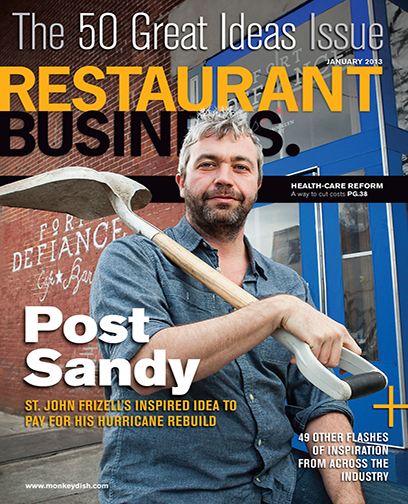 Restaurant Business Magazine January 2013 Issue