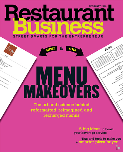 Restaurant Business Magazine February 2010 Issue