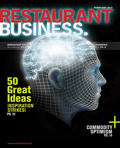 Restaurant Business Magazine February 2012 Issue