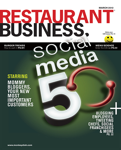 Restaurant Business Magazine March 2012 Issue