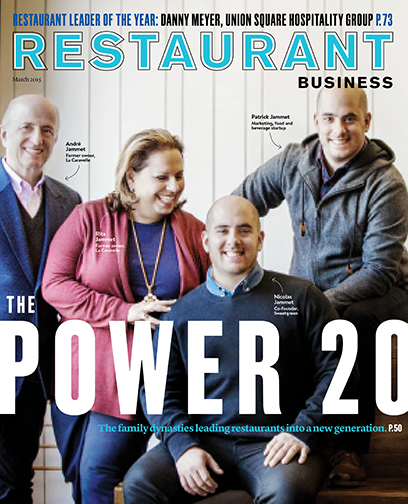 Restaurant Business Magazine March 2015 Issue