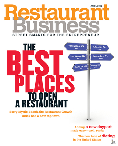 Restaurant Business Magazine April 2010 Issue