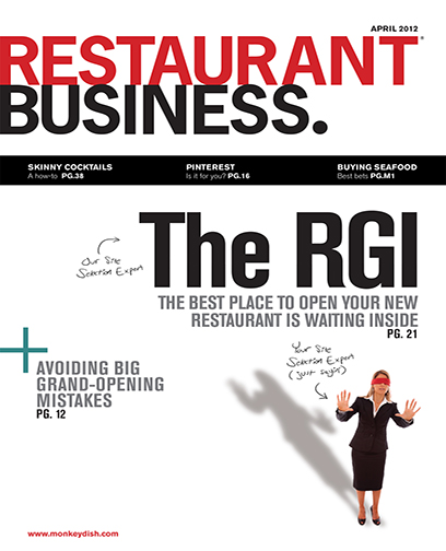 Restaurant Business Magazine April 2012 Issue