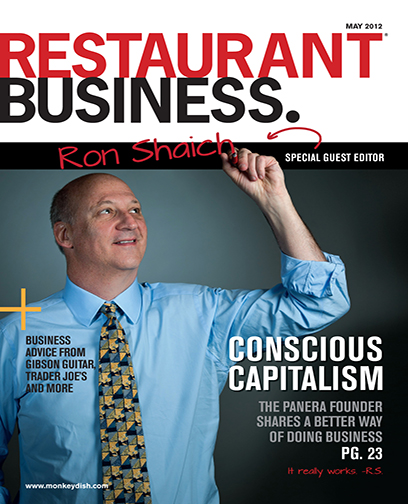 Restaurant Business Magazine May 2012 Issue