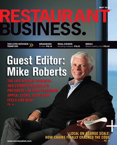 Restaurant Business Magazine May 2013 Issue
