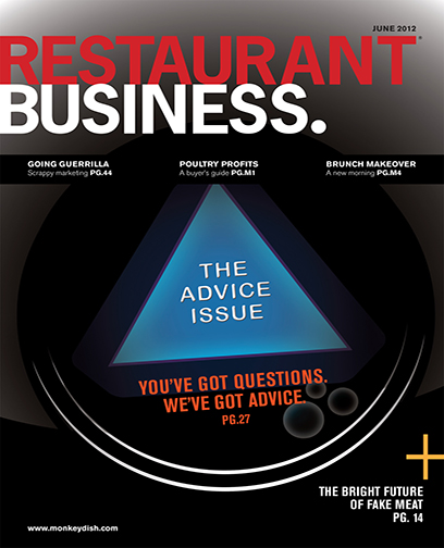 Restaurant Business Magazine June 2012 Issue