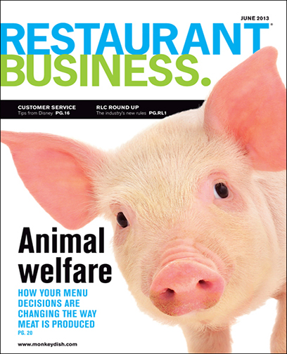 Restaurant Business Magazine June 2013 Issue