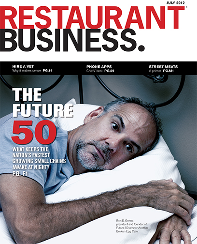 Restaurant Business Magazine July 2012 Issue