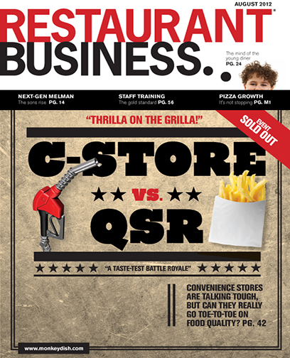 Restaurant Business Magazine August 2012 Issue
