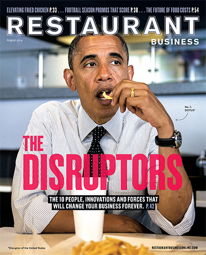 restaurant business cover the disruptors