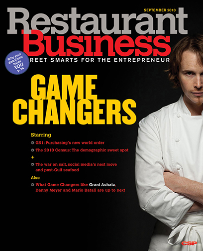 Restaurant Business Magazine September 2010 Issue