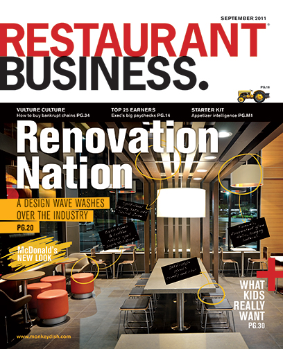 Restaurant Business Magazine September 2011 Issue