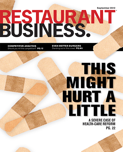 Restaurant Business Magazine September 2012 Issue