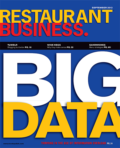 Restaurant Business Magazine September 2013 Issue