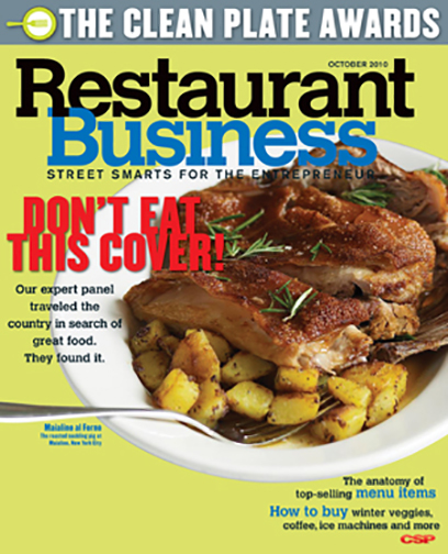 Restaurant Business Magazine October 2010 Issue