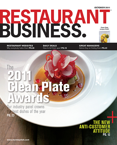 Restaurant Business Magazine October 2011 Issue