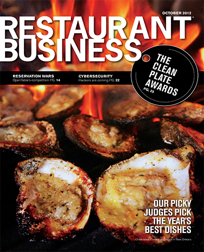 Restaurant Business Magazine October 2012 Issue