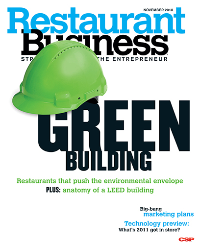Restaurant Business Magazine November 2010 Issue