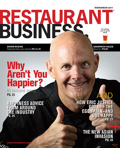 Restaurant Business Magazine November 2011 Issue