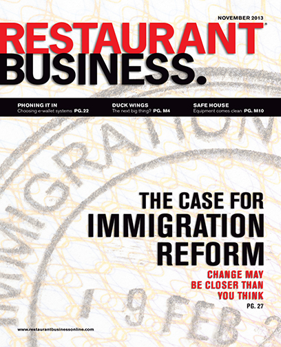 Restaurant Business Magazine November 2013 Issue