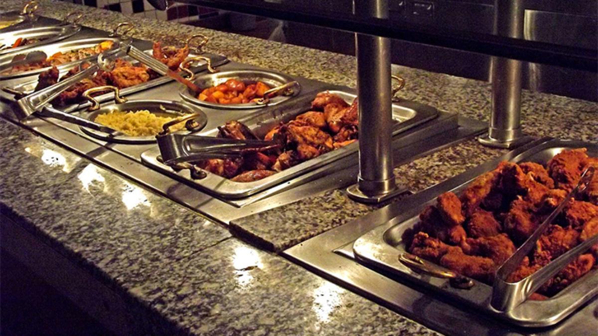 buffet steam table