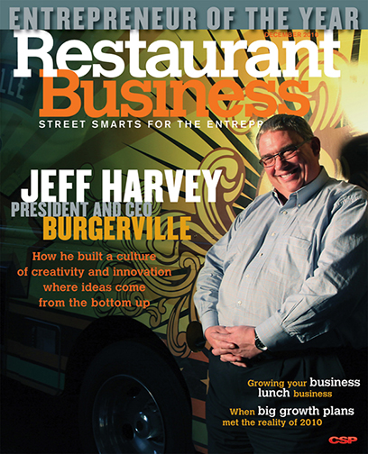 Restaurant Business Magazine December 2010 Issue