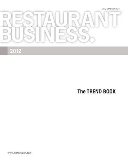 Restaurant Business Magazine December 2011 Issue