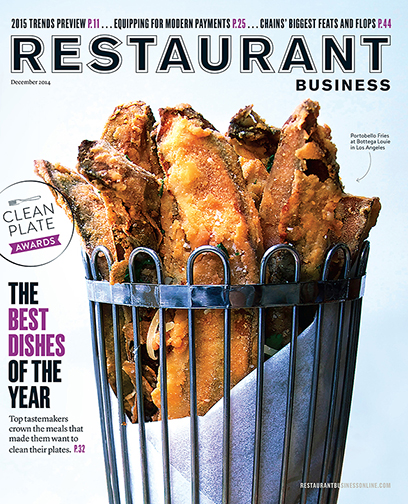 Restaurant Business Magazine December 2014 Issue