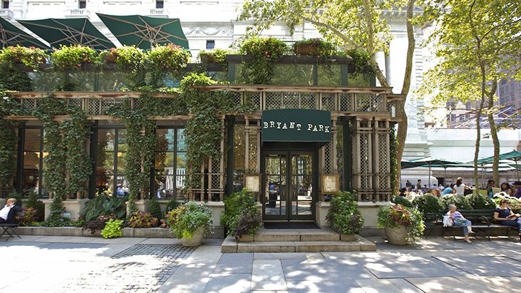 Bryant Park Grill Cafe 2016