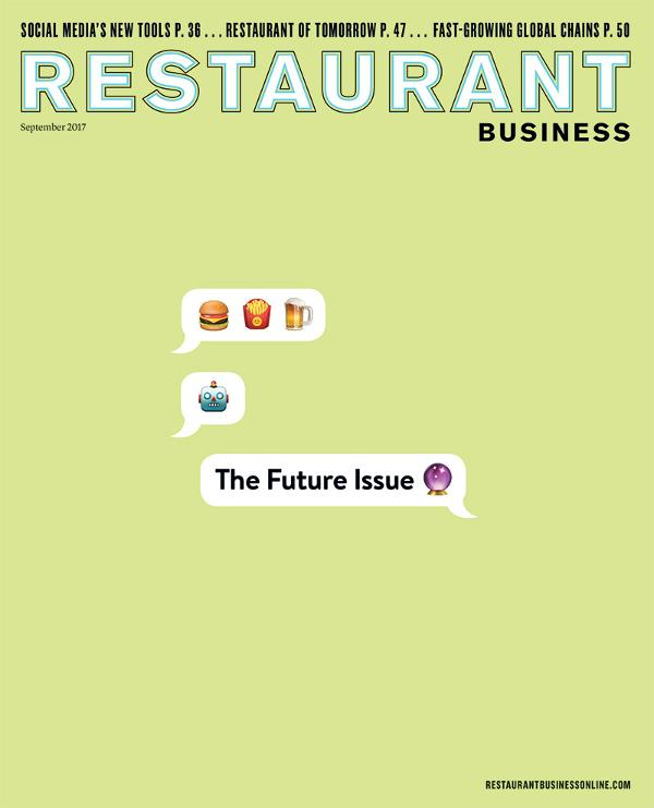 Restaurant Business Magazine September 2017 Issue