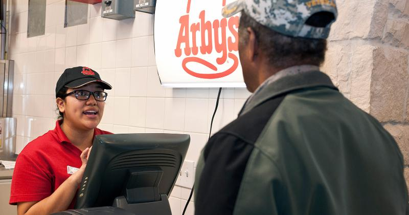 arbys counter