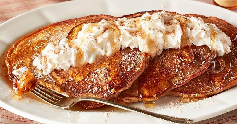 cracker barrel pumpkin spice pancakes