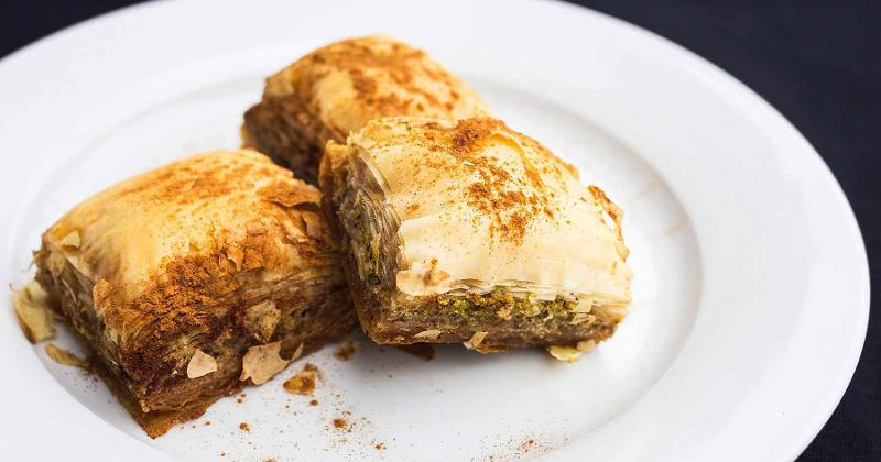 flying falafel baklava