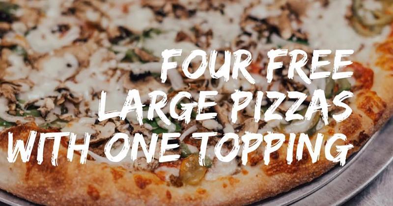 free pizzas