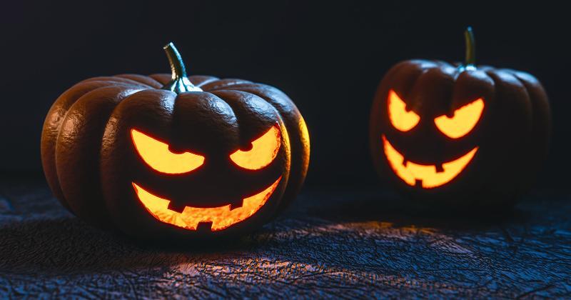 halloween pumpkins face carving