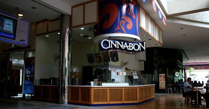mall cinnabon