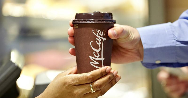 mcdonalds employee coffee