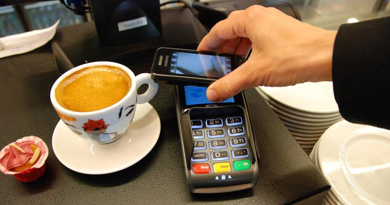 mobile payment cafe