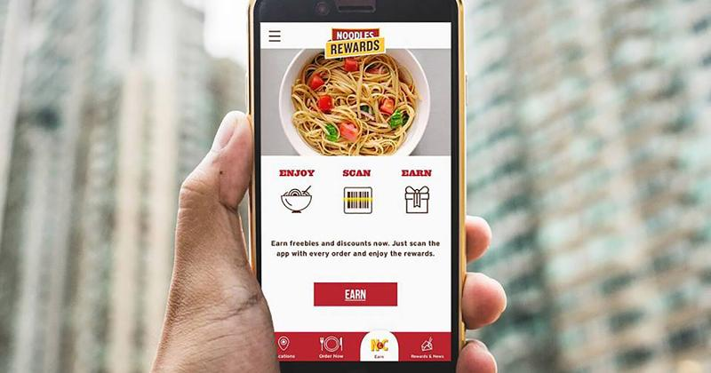 noodles rewards app