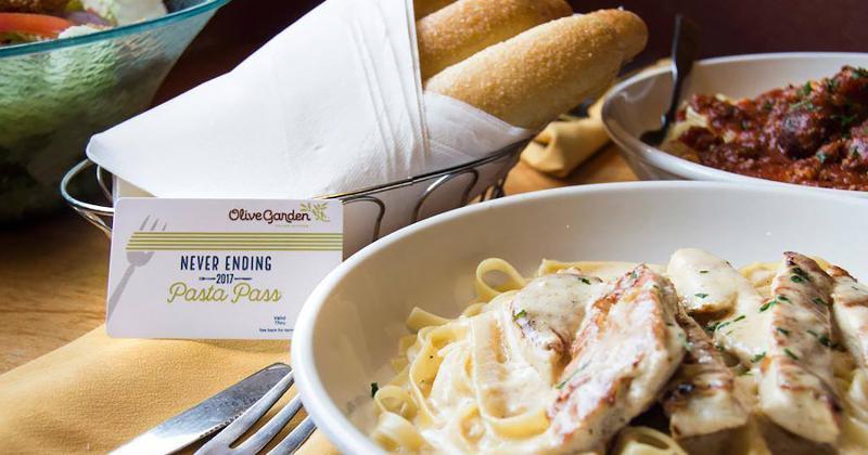 olive garde pasta pass