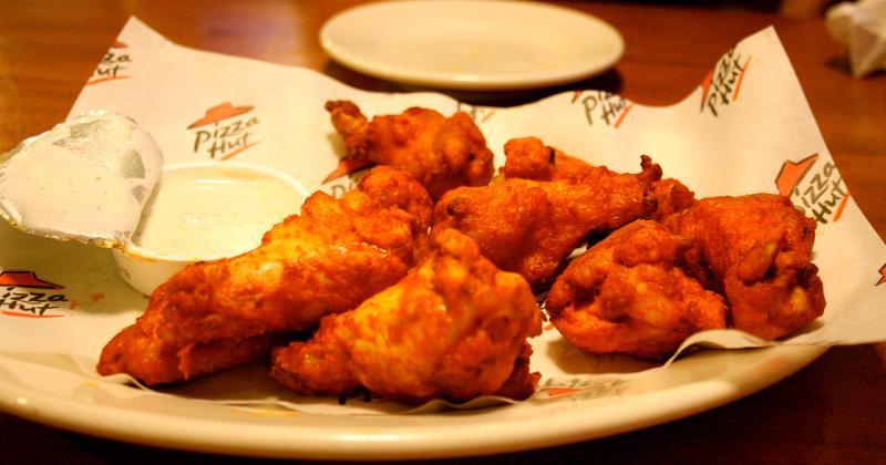 pizza hut chicken wings