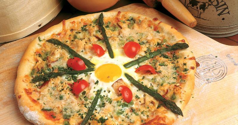 pizza quattro amori
