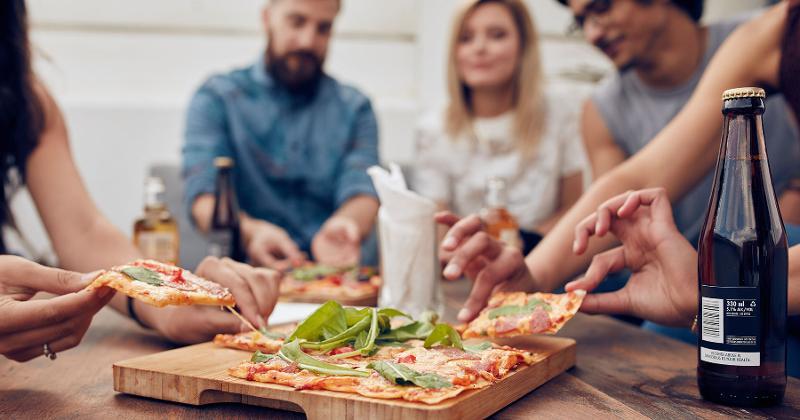 pizza friends