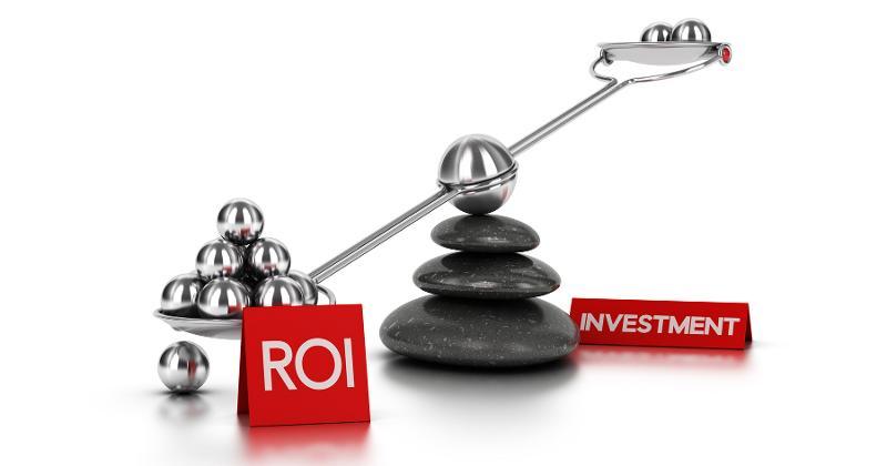 roi investment scale