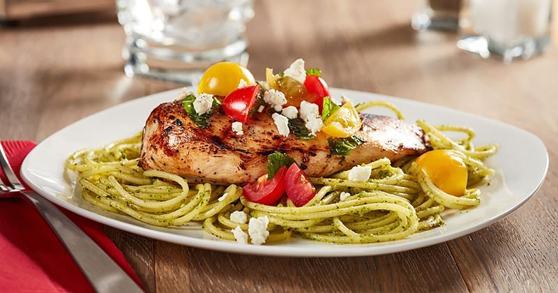 spaghetti lemon verbena chicken