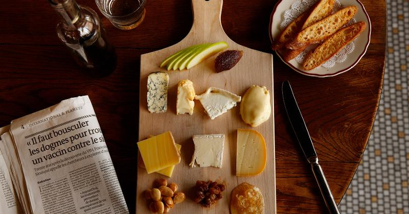 le diplomate cheese board