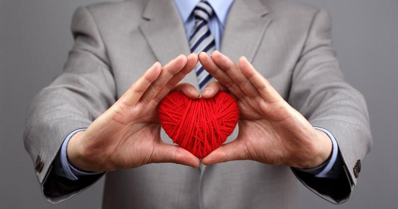 business heart passion