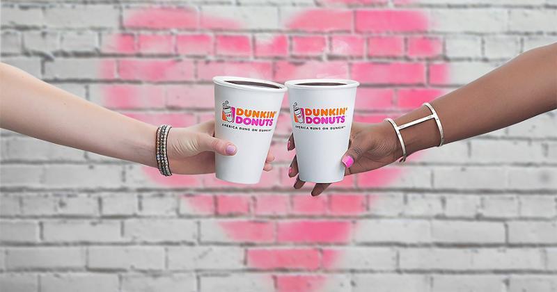dunkin coffee cups